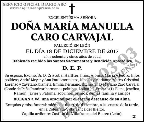 María Manuela Caro Carvajal